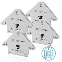 4 x Angle de soudage magnétique 11,3 kg / 25 lbs