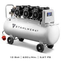 Compresseur dair comprimé STAHLWERK ST 1010 Pro -...