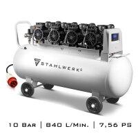 Compresseur dair comprimé STAHLWERK ST 1510 Pro -...