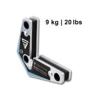 4 × Angle de soudure magnétique 9 kg / 20 lbs