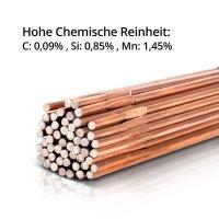 Jeu de baguettes à souder ER70S-G3 & ER307Si & ER4043Si5 Aluminium/Ø 1,6 x 500 mm