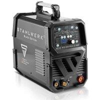 AC/DC TIG 200 pulse D IGBT Black - entièrement équipé