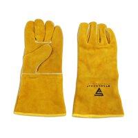 Schweißerschutzhandschuhe aus Echt-Leder dick