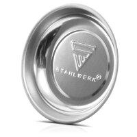 4 x plateau magnétique en acier inoxydable de...