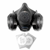STAHLWERK HM-2 ST demi-masque avec double filtre