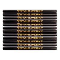 STAHLWERK Crayons de charpentier, lot de 12